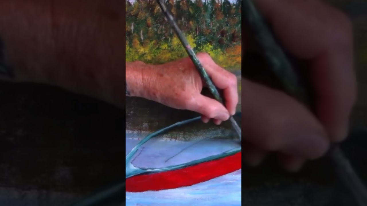Learn to paint this old weathered boat with acrylic paint