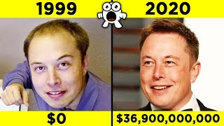 Billionaires Before They Were Rich