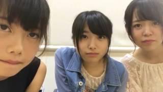 170723 久保怜音 & 千葉恵里 & 西川怜 Showroom.