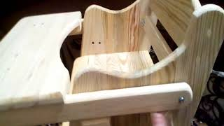 изготовление детского стульчика для кормления. ЧАСТЬ 2