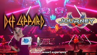 Def Leppard - Journey - LIVE Co-Headlining Tour 2018 NYC & NJ *cramx3 concert experience*