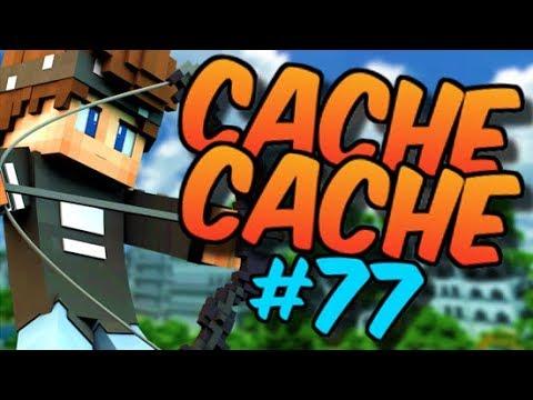 CACHE CACHE SUR MINECRAFT ! MAP VILLE 3 ! EPISODE 77 !