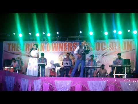 Swara Odisha Winner Miss Nandini's Stage perform At Talcher Biswakarma Puja program.....