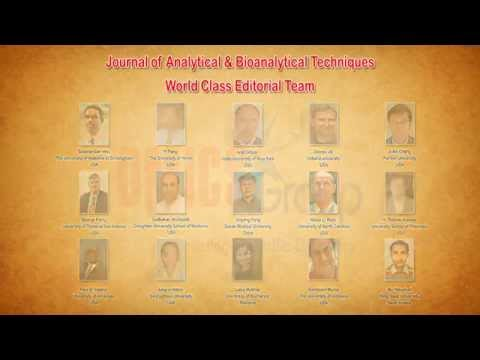 Analytical & Bioanalytical Techniques Journals OMICS Publishing Group