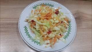 РЕЦЕПТ Любимого Салата из белокочанной капусты
