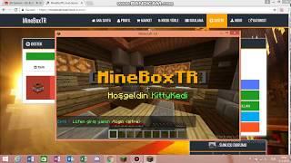 MineBox Sunucusunu Tanıtıyorum İp Açıklamada !!!