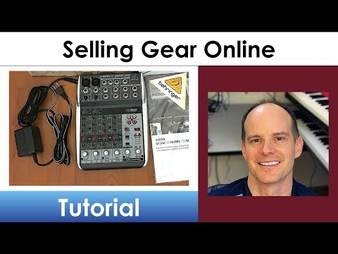 Sell Used Music Gear (and instruments) Online with Reverb.com
