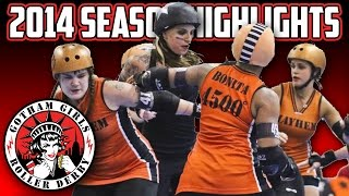 2014 Season Highlights - Gotham Girls Roller Derby