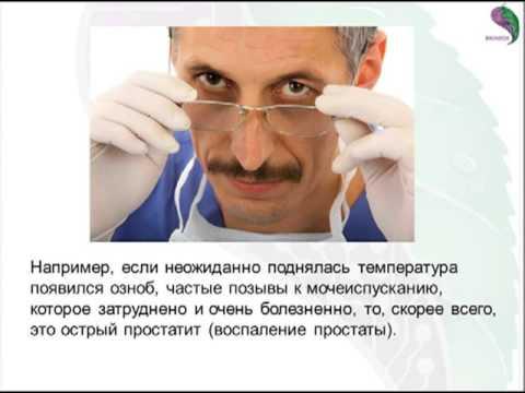 Медицина. массаж простаты