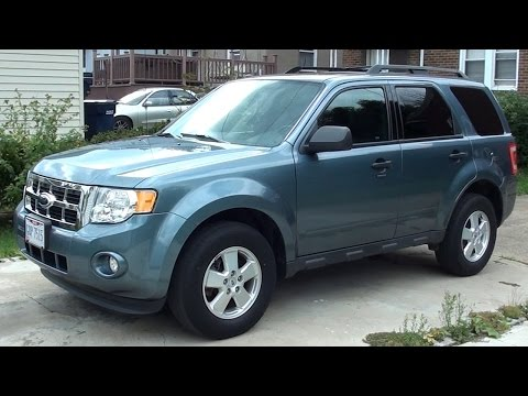 1 Year Update / Oil Change - 2011 Ford Escape XLT