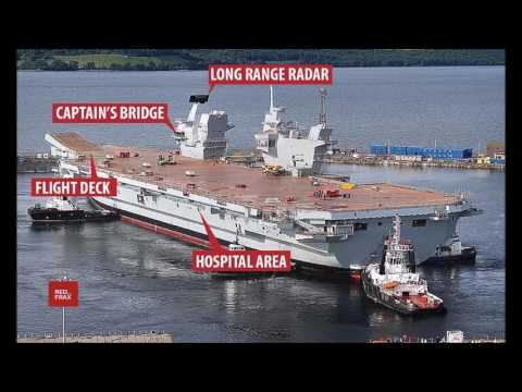 Russia start spying mission Navy's aircraft carrier