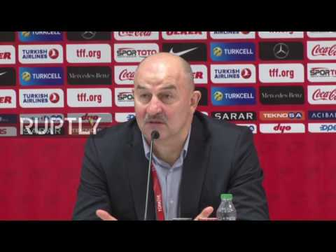 Turkey: Cherchesov Holds Press Conference After Russia-Turkey 0-0 Draw