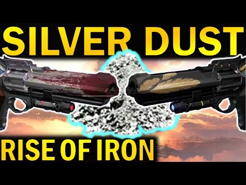 Destiny: SILVER DUST! | Buy ORNAMENTS | New Currency in Rise of Iron