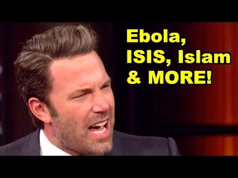 Ebola, ISIS, Islam - Ben Affleck, Bill Maher & MORE! LiberalViewer Sunday Clip Round-Up 76
