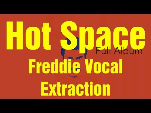 QUEEN Hot Space Album Vocal Extraction