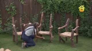 Сказочный стул в рустикальном стиле. Мастер класс // FORUMHOUSE(Оказывается, сделать сказочный стул своими руками не так уж и сложно. Оказывается, технология изготовления..., 2013-08-27T08:03:45.000Z)