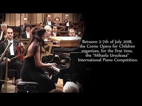 """Mihaela Ursuleasa"" International Piano Competition    The Comic Opera for Children"