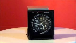 Seiko Ramona/ Roper Japanese Quartz Travel Alarm Clock