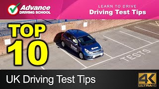 Top 10 UK Driving Test Tips  |  Learn to drive: 2019 UK Driving Test