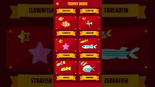 Go Fish! App Completed! *Completely Maxed and All Trophies* !!