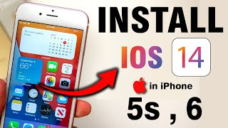 How to Install😲😲 ios 14 in iPhone 5s and 6  How to Update iPhone 5s and 6 on ios 14🔥🔥
