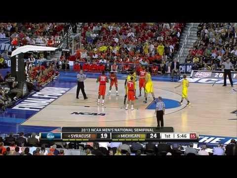 CBB 12/13 Syracuse Orange vs Michigan Wolverines NCAA Tournament Final Four 04/06/13 (Full Game)