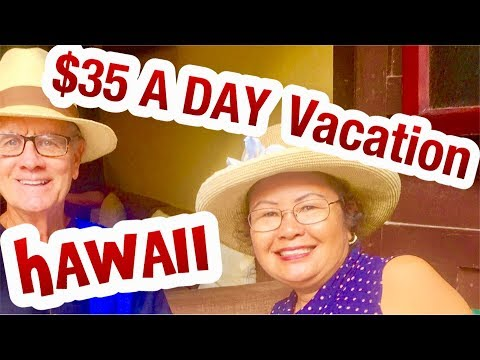 $35 A DAY ? Budget Travel Big Island Hawaii  Kailua Kona, Hilo, Honolulu Oahu