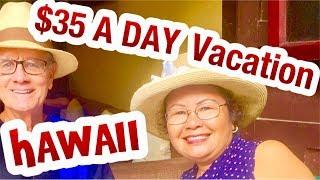 $35 a DAY ? Budget Travel Big Island Hawaii  Kailua Kona, Hilo, Honolulu Oahu