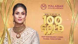 Win up to 10 Kilos of Gold for 100 winners at Malabar Gold & Diamonds- Qatar