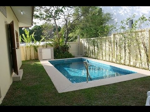 Phuket rawai rent cheap pool house 2 bedrooms youtube - Houses to rent in uk with swimming pools ...