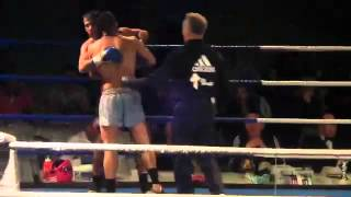William Diender vs Mesut Derin - 30 maart 2014 - KO - Fighters Heart Arnhem