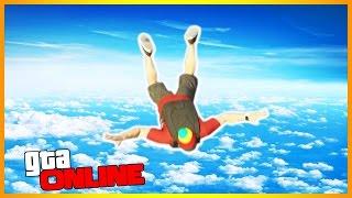 GTA 5 Online (PС)-Свободное падение.#10