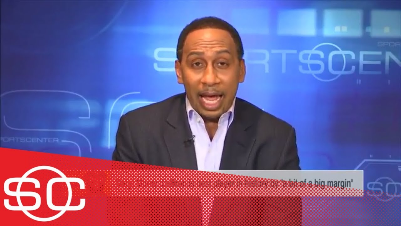 Stephen A. responds to Daryl Morey calling LeBron James the GOAT | SportsCenter | ESPN
