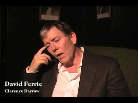 Clarence Darrow: The Trials ~ Actor David Ferrie Interview