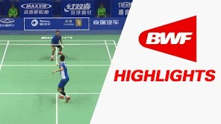 TOTAL BWF Thomas & Uber Cup Finals 2016 | Badminton Day 1/S2-Thomas Cup Grp A-CHN vs MEX– Highlights