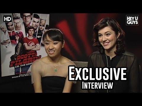 Mary Elizabeth Winstead & Ellen Wong  Scott Pilgrim vs. The World Exclusive