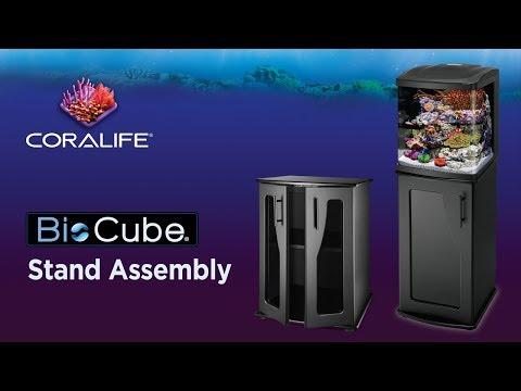 Coralife BioCube | Designer Aquarium Stands – Assembly Instructions