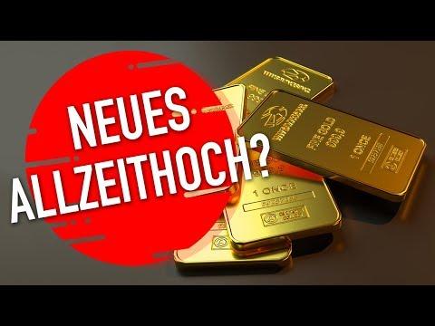 Gold: Rekord-Ziel bei 3.600 US-Dollar?