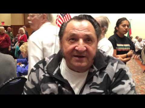 Meskwaki Bingo Casino Hotel • Veterans Day Interviews • Nov. 11, 2015