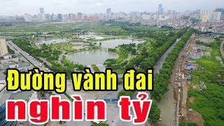 Cận cảnh tuyến đường nghìn tỷ nối cầu Mai Dịch đi sân bay Nội Bài