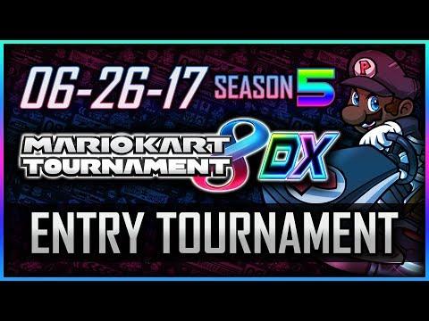 Mario Kart 8 Deluxe: Entry Tournament #1 (6/26/17) - #MarioKartMondays [Sponsored by @ElgatoGaming]