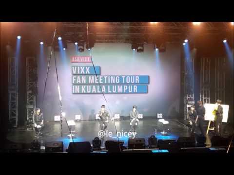170727 Ken Post-it Q&A Cut - VIXX Kuala Lumpur Fanmeeting