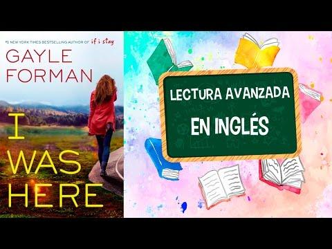 """Lectura de inglés Avanzado, Libro: """"I was here"""" (3 capitulos)"""