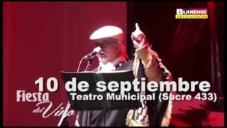 Invitación a último concierto de Tito Fernández en Antofagasta