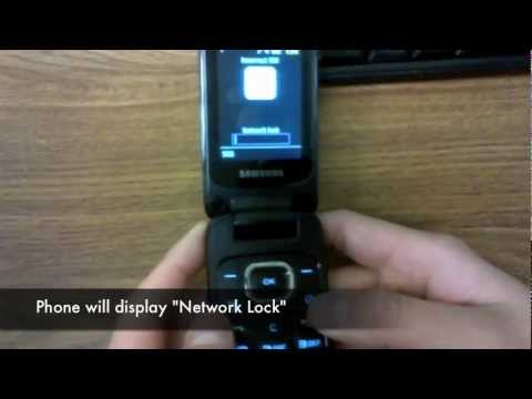 How to Unlock Samsung SGH-A927 Flight II 2, C414 , A117 + all other Models by Unlock Code