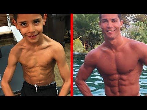 Cristiano Ronaldo's Sohn hat Sixpack mit 7 Jahren!