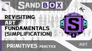 (Человек Упрощение) Сессия 49 - Creative Sandbox [RUS/eng] (Пересмотр основ рисования)