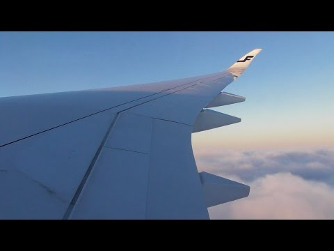 Finnair Airbus A350-941 / London Heathrow to Helsinki *FULL FLIGHT*
