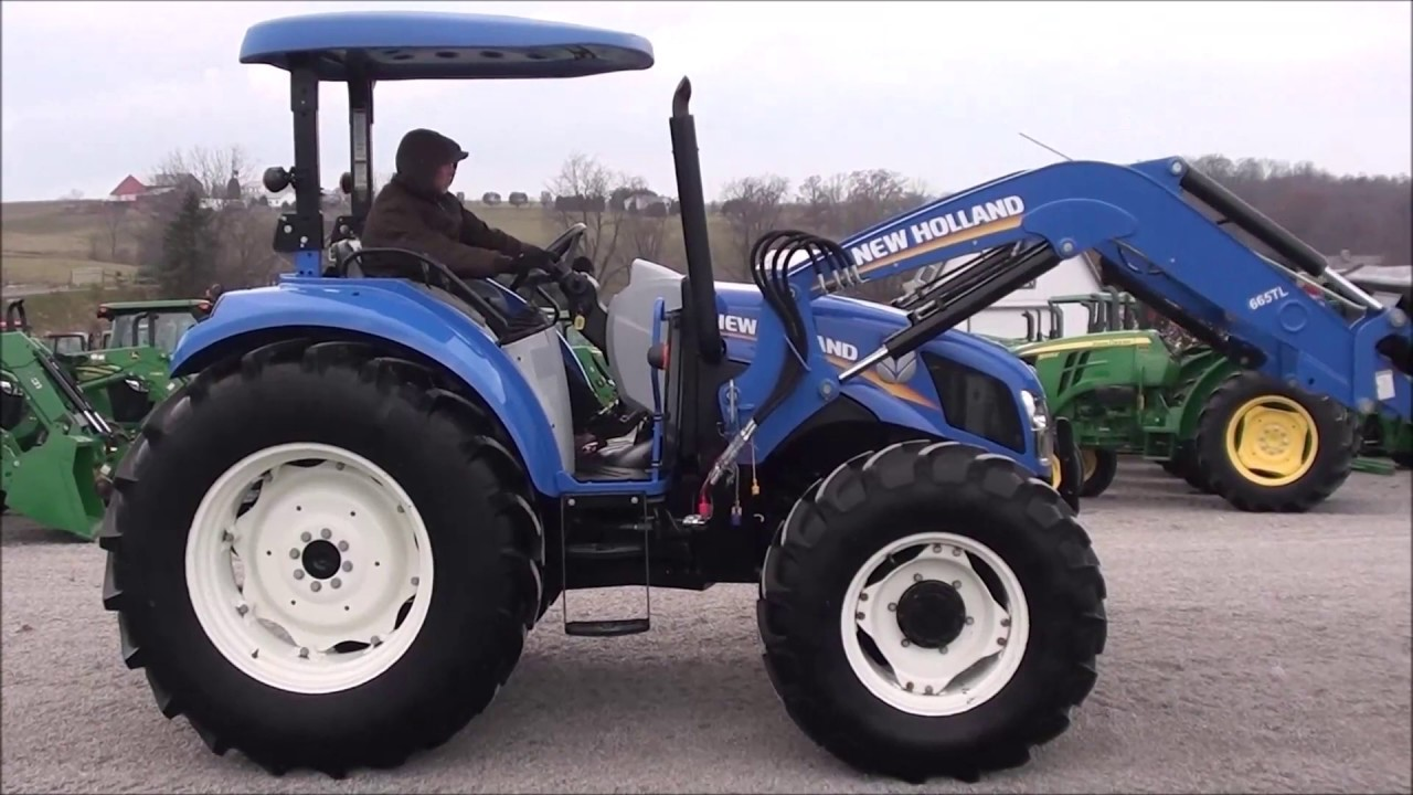 Sharp New Holland T4 95 Tractor For Sale!