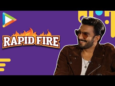 Ranveer Singh SLAYS in this exciting RAPID FIRE | Sara Ali Khan | Simmba